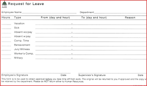 Request Letter For Sick Leave Sick Leave Request Sample Sheet Forms Example Form Letter
