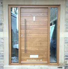 modern residential front doors. Modern Contemporary Front Doors Oak And Other Woods Bespoke Residential Entry L