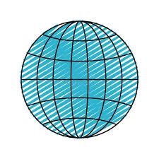 Globe Lines World Stock Illustrations 18 740 Globe Lines