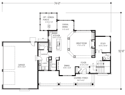 2 story country style house plan