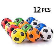 Mini Soccer Ball Decorations Inspiration Amazon Mini Sports Balls For Kids Party Favor Toy Soccer Ball