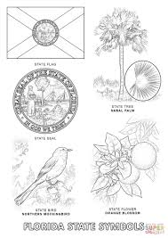 Small Picture Florida State Symbols coloring page Free Printable Coloring Pages