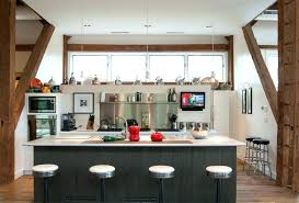 half wall countertop decoration half wall kitchen farmhouse with sink white counter galley mounted wall countertop