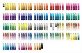 Pms Orange Color Chart Kevron Printing Mailing Inc Print Tips The Difference