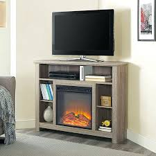 fireplace tv stand with soundbar inch driftwood corner highboy pacer 72 contemporary back