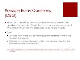 regents review what you should know ppt  possible essay questions dbq