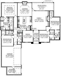 4 bedroom floor plans one story photo 1 contemporary modern house full size