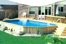 swimming pool deck jets x above ground pools fascinating used huge best large decks ideas