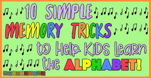 Order this dvd, click here: 10 Simple Memory Tricks To Help Kids Learn The Alphabet Heidi Songs