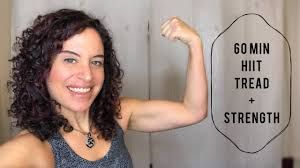 60 Minute HIIT Treadmill Strength Workout [Burn 700 Calories!]
