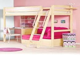 Sofa Bunk Bed Ikea Bed And Sk Combo Teens Trendy Whitewash Loft Bed