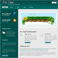 Free Website Templates Magnificent Pro Teal Free Website Templates In Css Js Format For Free