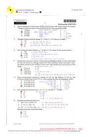 Dibawah ini adalah soal dan pembahasan osn tingkat sd bidang matematika, ipa, dan ips. Soal Un Sd 2015 Dan Kunci Jawaban Guru Galeri