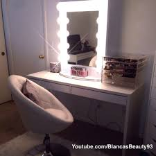 hollywood vanity girl broadway mirror in white designs