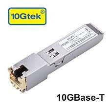 10Gtek® <b>10Gb</b>/s <b>SFP+</b> RJ45 Copper Transceiver, 10GBase-T, RJ45 ...