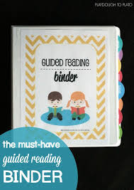 How To Create Binder Spines In Word Editable Guided Reading Binder New Teachers Pinterest Guided