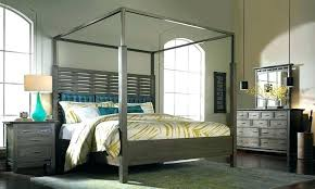 Buy a Modern Canopy Bed Frame |