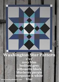 236 best images about Barn quilts on Pinterest   Tennessee ... & barn quilt patterns   Painted Wood Barn Quilt, Washington Star Pattern Adamdwight.com