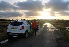 Vauxhall MOKKA X outdoors off-road adventures