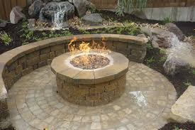 simple outdoor fire pits ideas