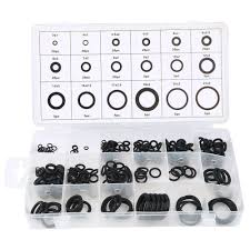 Rubber Ring Size Chart Us 1 65 18 Off Universal New Tool 18 Sizes 225 X Rubber O Ring O Ring Washer Gasket Automotive Seals Assortment Black For Car Hot In Auto Fastener
