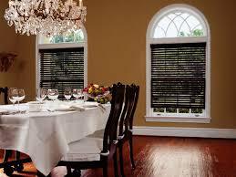 formal dining room window treatments. Brilliant Window Wood Blinds Perfect For Formal Dining Rooms Intended Room Window Treatments O