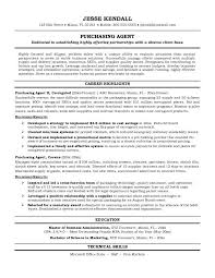 Purchasing Agent Resume | The Best Resume