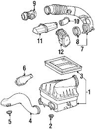 parts com® mercedes benz ml430 engine appearance cover oem parts diagrams 2000 mercedes benz ml430 base v8 4 3 liter gas engine appearance cover