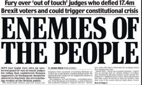 Hasil gambar untuk judges brexit