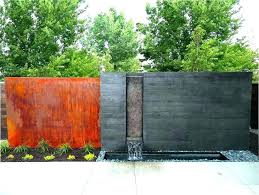 outdoor wall waterfall outdoor wall fountains modern