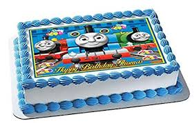 Amazoncom Thomas Train Nr2 Edible Cake Topper 75 X 10 1