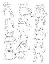 Tranh tô màu quần áo cho bé đẹp và đa dạng các mẫu thời trang