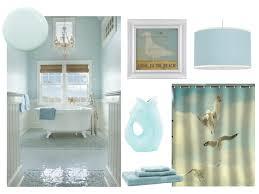 coastal style bath lighting. coastal inspired bathroom in light blue with a hint of sand style bath lighting e