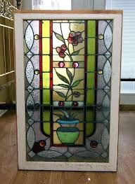 stained glass frame for stained glass panel framed panels elegant mosaic window metal of 4