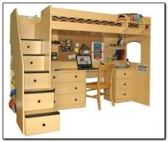 bunk bed office underneath. Queen Bunk Bed With Desk Underneath Office