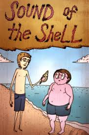 bbc gcse bitesize chapter sound of the shell sound of the shell ralph and piggy on the beach holding the conch