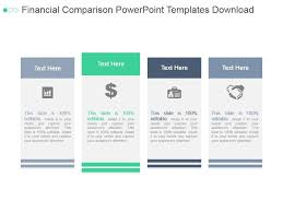 Powerpoint Financial Financial Comparison Powerpoint Templates Download