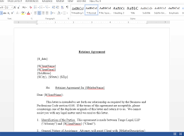 Retainer Agreement Template Automatically Generate Retainer Agreements From Clio WebMerge 13