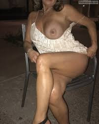 Wive in underweaer outdoor fuck