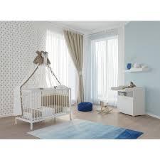 Top marken günstige preise große auswahl. Polini Kids Babyzimmer Set Gitterbett Mit Wickelkommode Weiss Polinikids