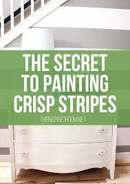 how to paint stripes the secret to crisp stripes