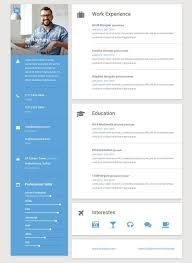 Html Resume Template Stunning Interactive Resume Template Download Now 48 Best HTML Resume Cv