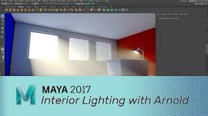 Maya Light Portal Lighting An Interior Scene With Arnold Lesterbanks