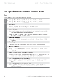 Basic Apa Style Fillable Online Bestlibrary Apa Style References List Basic Forms