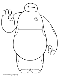 Baymax Is A Cute Character From Disney Big Hero 6 Movie How About