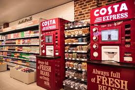 Costa Vending Machines Enchanting Costa Express Machine Fresh Coffee To Go In Stor SPAR