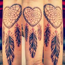Heart Dream Catcher Tattoo 100 Gorgeous Dreamcatcher Tattoos Done Right TattooBlend 4