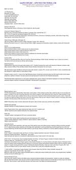 Usa Jobs Resume Writer Usa Jobs Resume Format] 100 Images Sample Resumes Federal 77