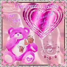 A Beautiful Baby Girl Free New Baby Ecards Greeting Cards 123