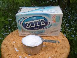 easy homemade laundry detergent using zote flakes